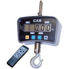 CAS IE-200C IE Series Economy Digital Crane Scale 200lb x 0.1 lb LCD