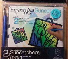 Engreaving art suncatcher