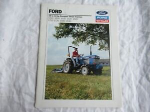 Ford New Holland 1215 1220 1320 1520 1620 1715 1720 1920 2120 tractor brochure
