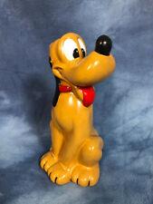 "Vintage 8"" Ceramic Pluto Walt Disney Productions Figure 1977"