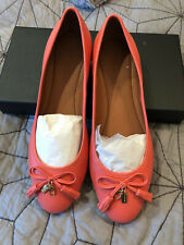 Coach Benni Flat Shoe Ballet Coral Fg2941 233439 coral 8B *Brand New* With Box
