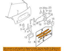 MINI OEM Cooper Liftgate Tailgate Hatch-Handle Outside Exterior 51137075582