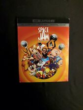 SPACE JAM A NEW LEGACY, 4K + BLU-RAY WITH SLIPCOVER NO DIGITAL, LOT D4