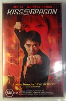 Kiss Of The Dragon VHS 2001 Chris Nahon Let Li 20th Century FOX Large Case