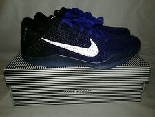 New Men Nike Kobe Bryant XI Elite Low Basketball Shoes Size 11 Purple Black Gray