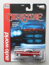 CHRISTINE 1958 PLYMOUTH FURY AUTO WORLD DIE-CAST 1:64 CAR
