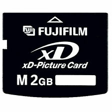 Fujifilm M 2GB xD 2 GB Fuji Memory xD-Picture Card for Olympus Camera FROM USA