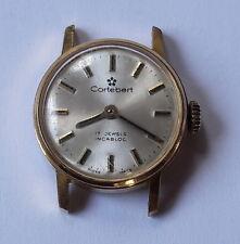 Vintage Ladies CORTEBERT INCABLOCK 17 jewels Handwinding Swiss Made Wristwatch