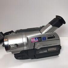 Sony CCD-TRV208E *Stuck Tape* Camcorder Hi8 560x Digital Zoom