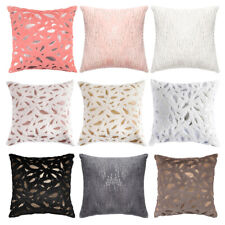 """18"""" Throw Pillow Case Square Sofa Couch Cushion Cover for Bed Chair Home Decor"""