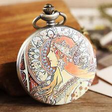 """The Gypsies Princess"" Pocket Watch Pendant! A Beautiful Gift Idea!"