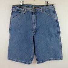 Polo Jeans Co. Vintage Light Wash Classic Denim Carpenter Shorts - Men's 36