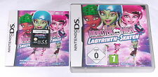 Juego: Monster High laberinto-patinar para Nintendo DS Lite + + DSi + xl + 3ds 2ds