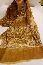 Indu Saree beige & Gold Woven Nylon Silk Women's Sarees