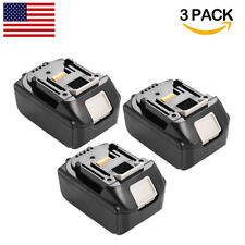 3 Pack 18V 3.0Ah Battery Lithium Ion for MAKITA BL1815 BL1830 LXT400 Power Tools