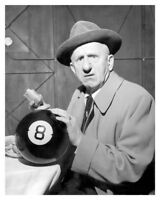 Hollywood Movie Actor Jimmy Durante with 8 Ball Silver Halide Publicity Photo