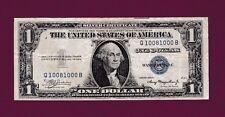 Fr.1611  $1  1935 A  SILVER CERTIFICATE NOTE FANCYY SN Q 10081000 B  US CURRENCY