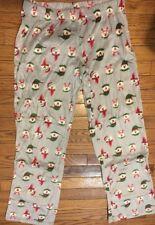 Flirtitude SOFT Fleece Bear Print Pattern M Pajama Pants Juniors New NIP NWT 807