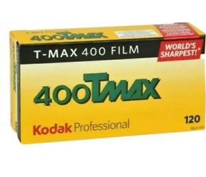 5 Rolls Kodak TMY-120 TMAX-400 ISO 400 Professional Black & White  Film fresh