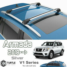 fit for Nissan Armada 2018+ Roof Rack Cross Bar Silver