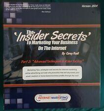 Popular Corey Rudl Marketing Tips Resource Binders 1 & 2(Sealed)