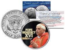 POPE BENEDICT XVI Kennedy JFK Half Dollar U.S. Mint Coin with CERTIFICATE