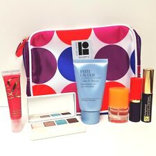 Estee Lauder: bag, Lipstick, Cleanser, Eye Shadow, Mascara