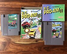 R.C. RC Pro-Am 2 II Nintendo NES CIB COMPLETE Box Manual Cart NES + Part 1 FREE