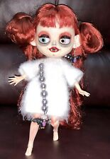Blythe OOAK Customized Spooky Vampire Doll