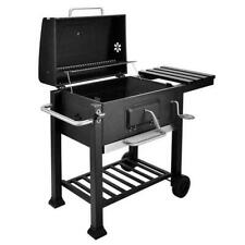 BBQ Barbecue Charcoal Grill w/ Wheels Portable Picnic Party Outdoor Patio Garden