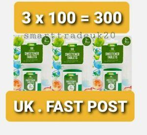 300 Stevia Sweetener Tablets Weight Loss Diet Dibatic Slimmers Low Calories Asda