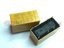 HK19F-DC 5V-SHG DPDT Mini Power Relay DIP x 10pcs