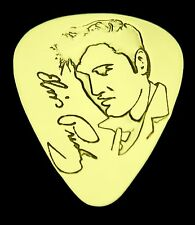 ELVIS - Solid Brass Guitar Pick, Acoustic, Electric, Bass