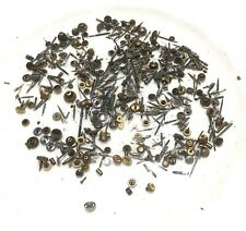 50 Mixed Pocket Watch Buttons Winders Crowns And Stems: Buttons B46