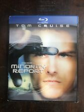 Minority Report (Blu-ray Disc, 2010, 2-Disc Set) with Lenticular Slipcover
