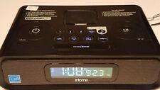 iHOME HiP99 Radio Alarm Clock Dock Station (Damaged USB)