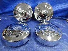 "95-08 Ford F250 F350 E350 SRW 16"" Wheel SHALLOW  Center CapS 3140 SET OF 4"