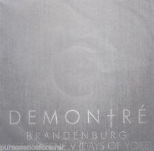 DEMONTRE - Brandenburg (UK 2 Track DJ CD Single)