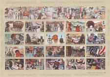 2001 Marconi/radio - Mongolia foglietto perforato