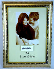 6 x  GOLDEN A4  Picture Photo Frame Frames Wholesale Bulk Lots New