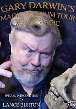 Gary Darwin's Magic Museum Tour & Silk Magic DVD - Vegas History & Learn Tricks!