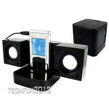 Folding Travel Portable Mini Speakers for MP3 MP4 DVD Player Laptop