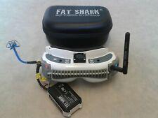 FatShark Dominator HD FPV Goggles LaForge 5.8GHz Diversity RX / RC Racing Drone