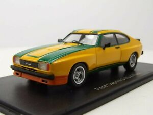 neo 1/43  Ford Capri MKII 3.0S X-Pack  gelb/grün 1976
