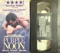 PURPLE NOON (VHS) drama thriller MARTIN SCORSESE