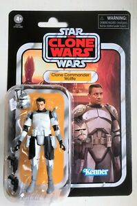"""Star Wars Vintage Collection Clone Commander Wolffe VC168  3.75"""" Action Figure"""