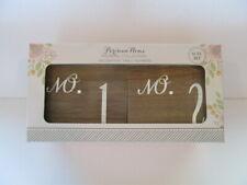 Table Numbers Wooden Decor Set Wedding Venue Table Centerpieces Shower Event