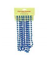 9ft Royal Blue Bead Chain - Christmas Bead Garlands - BA153