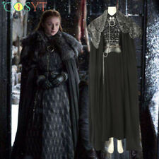 Game of Thrones SE.8 Sansa Stark Cosplay Halloween Costumes