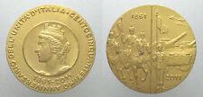 *TRIU* MEDAGLIA PER IL 150° DELL' UNITA' D'ITALIA 1861-2011 inc. Teruggi RARA